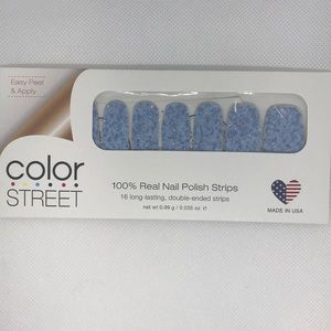 Color Street Glitter Nail Strips - Ice Castle